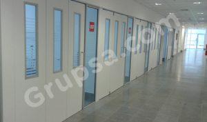Puertas para ICU